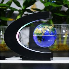 Magnetic Floating Globe Led World Map Magnetic Levitation Tellurion Light Up Home Decor School Supplies For Kids Creative Gifts Home