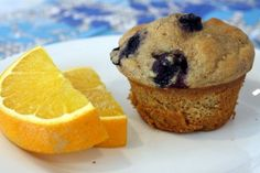 ♥ Healthy Blueberry Muffin. | BREAKFAST & BRUNCH
