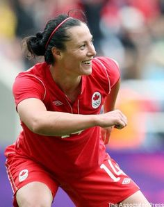 Will tournament goal-scoring leader Melissa Tancredi be able to help Canada to victory Friday?