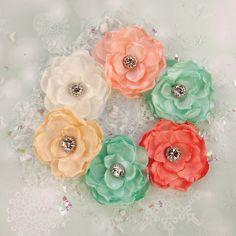 Sweet Peppermint Flowers - Christmas Morning