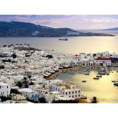 Mykonos Greece picture, Mykonos Greece photo, Mykonos Greece wallpaper ❤ liked on Polyvore