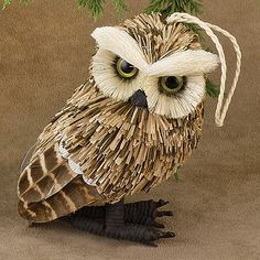 Owl Woodland Ornament