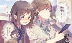 これぞ青春!? 全く知らない人への一目惚れエピソード | TRILL【トリル】 Manga Story, Anohana, Girl With Brown Hair, Anime Love Couple, Manga Drawing, Pretty Art, Anime Couples, Kawaii Anime, Character Art