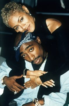 Tupac Amaru Shakur Foundation has plans to release a new record from the iconic rapper. Tupac Shakur recently appeared on the HNHH pages when three poems wri. Jada Pinkett Smith, Jada Pinkett Tupac, 90s Hip Hop, Hip Hop Rap, Black Couples, Cute Couples, Black Love, Black Is Beautiful, Tupac And Jada