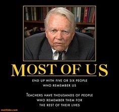 Andy Rooney knew what to say!