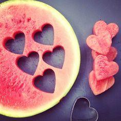 Valentijn-ontbijt recepten:liefdevol fruit
