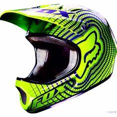 MTB Fox Rampage full face helmet