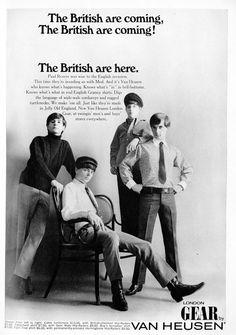 Vintage Van Heusen ad (1960s)