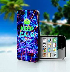 Keep Calm and Love Harry Styles - Photo On Hard Cover For iPhone 4,4S | myphonecases - Accessories on ArtFire