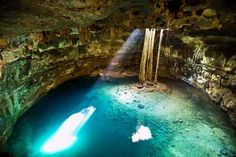 The beautiful and refreshing cenote at Cuzamá makes a great place for a swim © Yucatán Tourism Board
