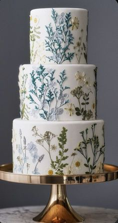 Gorgeous Cakes, Pretty Cakes, Cute Cakes, Amazing Cakes, Perfect Wedding, Our Wedding, Dream Wedding, Rustic Wedding, Wedding Cake Designs