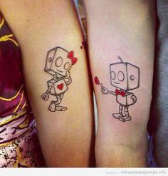 Nunca pensaron en algún tatuaje en pareja ?