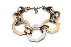 """""""Alchemy"""" polygon necklace, PONO, $240, ponobyjoangoodman.com."""