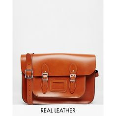 The Leather Satchel Company 14 Inch Satchel (175 CAD) ❤ liked on Polyvore