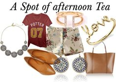 {Fashion} A Spot of afternoon Tea