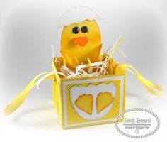 My little craft blog: Easter Treat Box with video