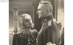 "George with Dolores Del Rio in ""Lancer Spy"" (1937)"