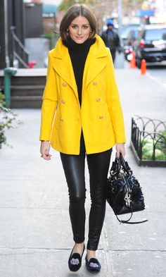 Olivia Palermo Out In New York, 2012