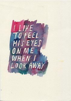 Before Sunrise // 1995 // Richard Linklater - I like to feel his eyes on me when I look away