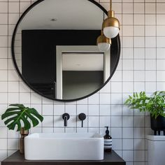 Hows everyones half term going? My kids are at a sports camp for a few days so I can crack on with some work. Theyre doing athletics trampolining swimming & hockey; if that doesnt tire them out nothing will! Photo from my bathroom project Bathroom Pendant Lighting, Contemporary Bathroom Lighting, Bathroom Mirror Lights, White Bathroom Tiles, Contemporary White Bathrooms, Mirror Wall Tiles, White Wall Tiles, Concrete Bathroom, Shower Tiles