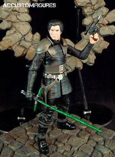 "Ben Solo (6"" Black Series) (Star Wars) Custom Action Figure"