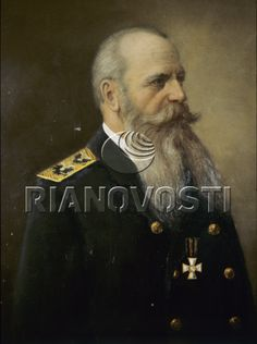 Портрет адмирала Степана Осиповича Макарова