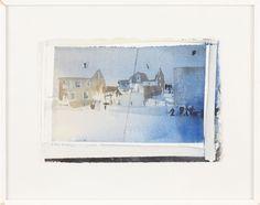 Lars Lerin akvarell | Stockholms Auktionsverk Online
