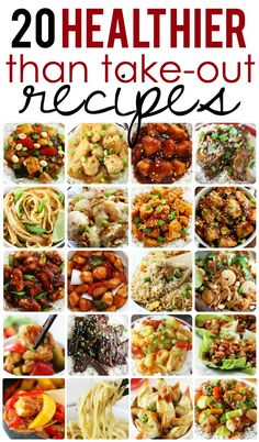 More than 20 easy and quick, healthy versions of your favorite Asian-style take out dishes!