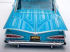 Aqua Boogie - 1959 Chevrolet Impala  ローライダー:UStimes