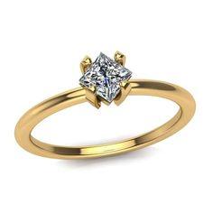 Yellow-Gold-Princess-Cut-Diamond-Prong(4)