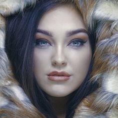 "Beauty shoot for model's Portfolio and Alistair Cowin's ""Beauty Book Model: Liz Meredith MUA: Chloe Bradley Beautiful Images, Beautiful Women, Fur Coat Fashion, Beauty Book, Chloe, Model, Inspiration, Winter, Sexy"