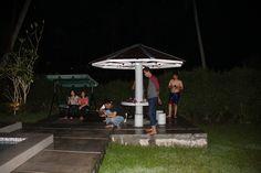 Berenang juga menjadi salah satu ritual penting sebelum melakukan rapat kerja nasional 2018 dari Male Indonesia