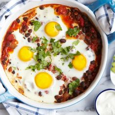 Mexican Egg Bake is a hearty yet healthy dish you can serve for a quick weeknight dinner or as a simple brunch.