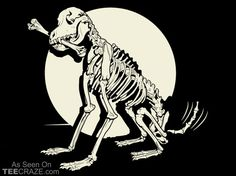 Dog Bones T-Shirt Designed by TP    Source: http://teecraze.com/dog-bones-t-shirt/