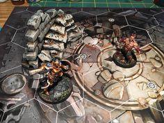 Shadespire terrain Warhammer Terrain, Warhammer Fantasy, Ladders, Miniture Things, Underworld, Tabletop, Minis, Scenery, Workshop