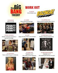 The Big Bang Theory Workout
