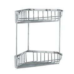 Gatco 1475 Tub and Shower Corner Caddy, Chrome by Gatco. Save 35 Off!. $57.33. From the Manufacturer                Gatco's Premier collections are constructed of the finest brass. Our high quality pieces are fabricated under a process know as forging. Forging is the ideal manufacturing process for creating smooth and precise detail of solid brass. Our finishes are the finest in the industry with each piece hand polished to perfection.                                    Produc...