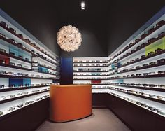 Opticians Store Design | Retail Design | Shop Design | Charles Zana - Architect
