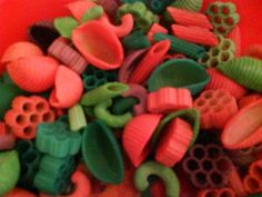 How to make colored noodles and other rainy day activities