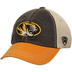 Missouri Tigers Top of the World Youth Rookie Offroad Trucker Snapback Hat - Black