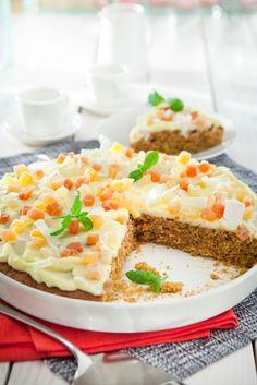 Mangoinen porkkanapiirakka | K-Ruoka #leivonta