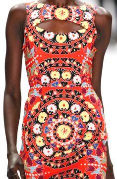 Stampe e patterns dalla New York Fashion Week (collezioni donna autunno/inverno 2013/14).  Mara Hoffman