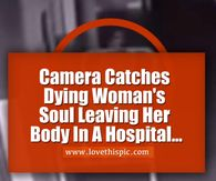 Woman Dies In Hospital, What Surveillance Camera Films Sends Shivers Down My Spine