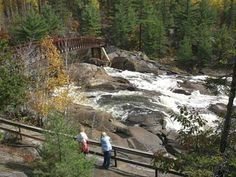 Visit a trail in Greater Sudbury! For more info: www.RainbowRoutes.com