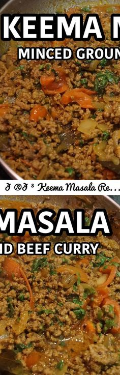 Keema Masala Recipe - Indian Ground Beef Curry - Another curry from the how to cook great food stable of video recipes. We are crazy about curries, masala, rice, spices & all things tasty from around the world. It could be from India, Thailand, Pakistan, Jamaica, Bengal, Sri Lanka we don't mind as long as it is tasty. Indian recipes, Pakistani food, Bengali curry, Jamaican curried, Sri Lankan hot pot we just love them them all. Chicken curry, lamb curry, beef curry, pork curry, veggie...