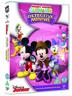 Mickey Mouse Clubhouse, Minnie Mouse, Detective, Palace Pets, Disney Junior, Snoopy, Disney Characters, Birthday, Movies