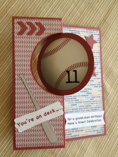 Little-League card by brownie59 - Cards and Paper Crafts at Splitcoaststampers