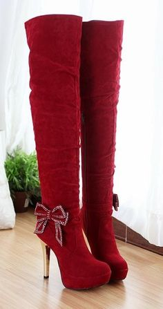 Red boots are an essential.... so why don't I have any???