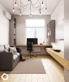Home - Polygon Interior - Teen Bedroom - - Hjem - Polygon i Guest Room Office, Home Office Space, Home Office Decor, Home Decor, Office Ideas, Office Interior Design, Office Interiors, Room Interior, Kids Room Design
