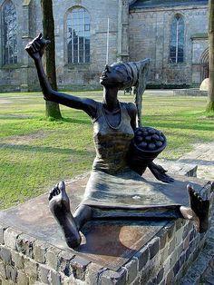 (Ootmarsum, Holanda) A Jurubeba Cultural: A Arte ... As esculturas urbanas.